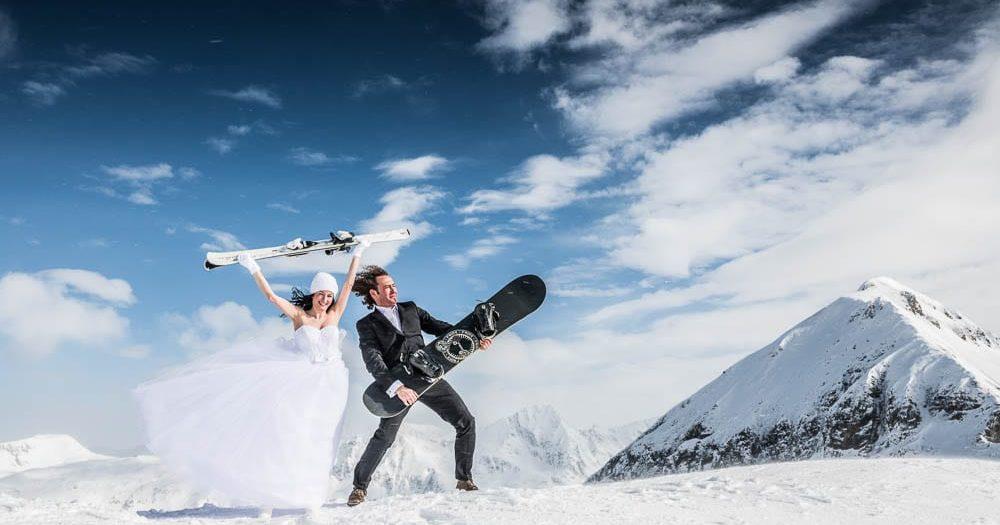 Winterhochzeit Obertauern - Melinda & Viktor