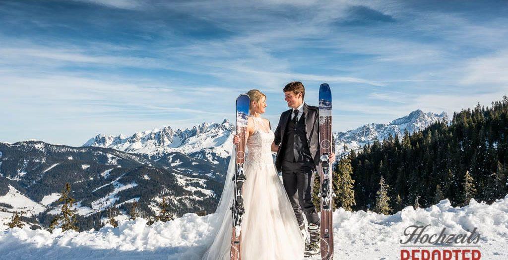 Afterwedding Ski-Shooting Salzburger Land